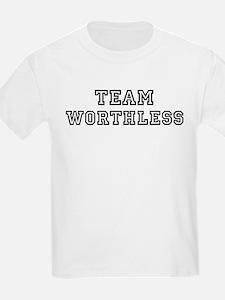 Team WORTHLESS Kids T-Shirt