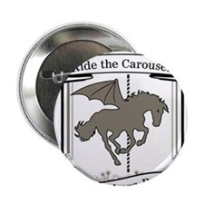"Batwing Carousel 2.25"" Button"