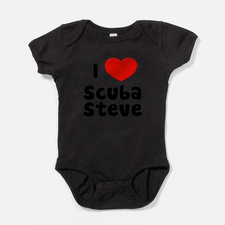 I Love Scuba Steve Body Suit