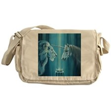 The Lion  The Unicorn Messenger Bag