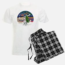 XmasMagic-SiberianHuskyPUP Pajamas