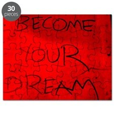 become your dream (red) Puzzle