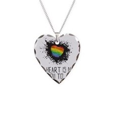 My Heart is Not for You to Ju Necklace