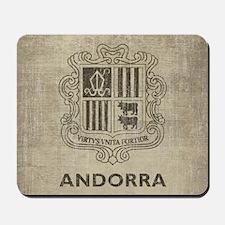 Vintage Andorra Mousepad
