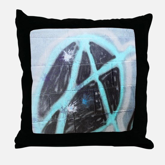 Anarchy 2 Throw Pillow