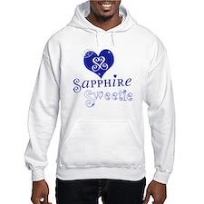 Sapphire Sweetie Hoodie Sweatshirt