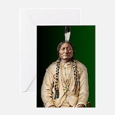 Journal-Sitting Bull Greeting Card