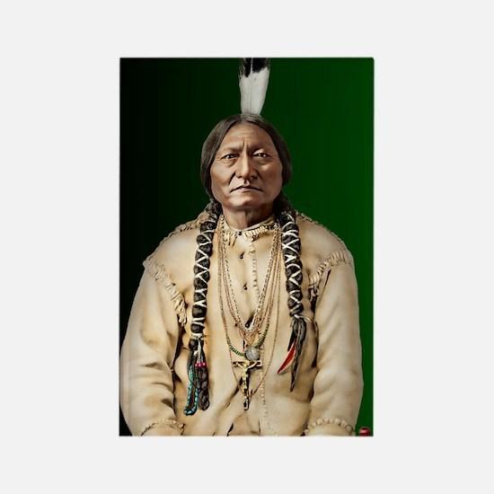 Journal-Sitting Bull Rectangle Magnet