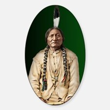 Journal-Sitting Bull Sticker (Oval)