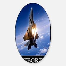 Military Motivational Poster: Integ Decal