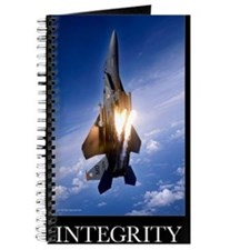 Military Motivational Poster: Integrity Journal