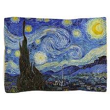 Starry Night - Van Gogh Pillow Sham