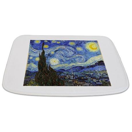 Starry Night   Van Gogh Bathmat