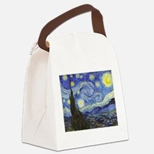 Starry Night - Van Gogh Canvas Lunch Bag
