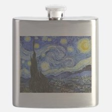 Starry Night - Van Gogh Flask