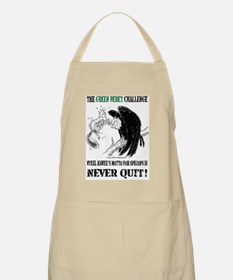 The Green Beret Challenge: Never Quit! Apron