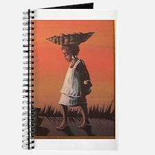 Funny Ebony wood art Journal