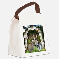Holland lops Canvas Lunch Bag