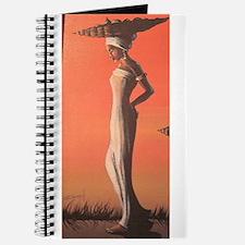 Ebony wood art Journal