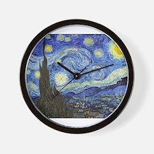 Starry Night - Van Gogh Wall Clock