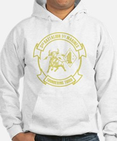 3rd Battalion 1st Marines Front Hoodie
