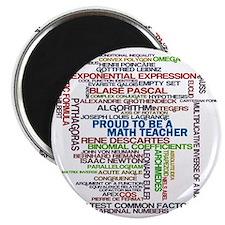 Proud Math Teacher Magnet