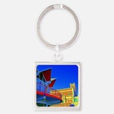 Paramount Theatre and McCloones Square Keychain