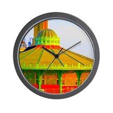 Asbury Park Carousel Wall Clock