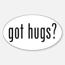 got hugs? Oval Decal