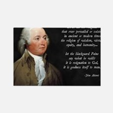 John Adams Christian Quote Rectangle Magnet