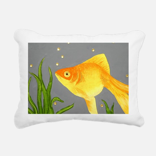 goldfish Rectangular Canvas Pillow