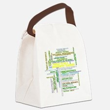 Proud Geography Teacher Canvas Lunch Bag
