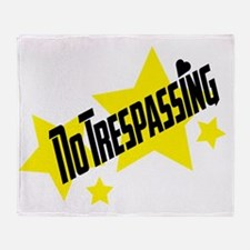glambert stars no trespassing! Throw Blanket
