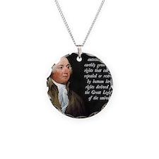 John Adams Rights Necklace