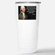 John Adams Democracy Travel Mug