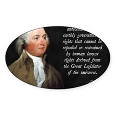 John Adams Rights Decal