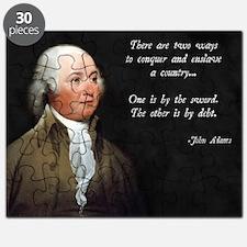 John Adams Sword and Debt Puzzle