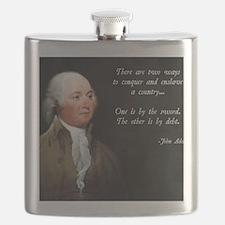 John Adams Sword and Debt Flask
