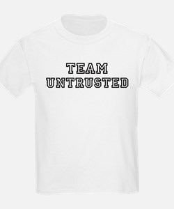 Team UNTRUSTED Kids T-Shirt