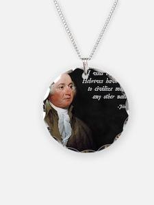 John Adams Israel Necklace