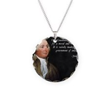 John Adams Religious Quote Necklace