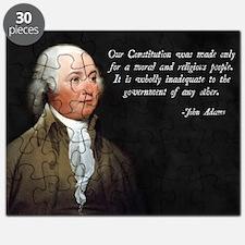 John Adams Religious Quote Puzzle
