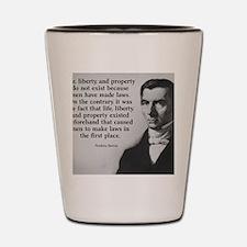 Life, Liberty, and Property Shot Glass