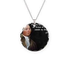 John Adams Religion Necklace