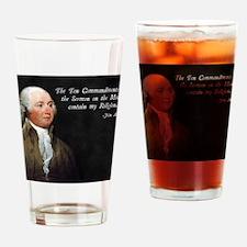 John Adams Religion Drinking Glass