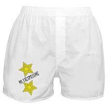 Glambert no trespassing! Boxer Shorts
