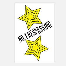 Glambert no trespassing! Postcards (Package of 8)