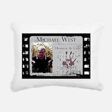 Michael West 11x17  Post Rectangular Canvas Pillow