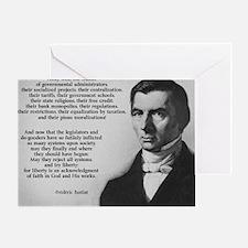 Frederic Bastiat Libertarian Greeting Card