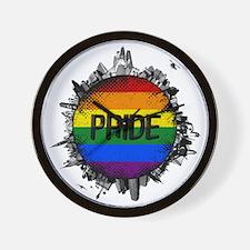 Pride City Wall Clock